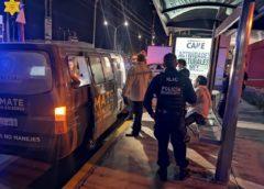 """60 personas trasladadas a """"El Torito""""y """"La Vaquita"""" por rebasar niveles de alcohol"""