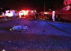 Accidente el Libramiento Surponiente deja una mujer fallecida y dos lesionados