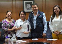 Gestoras de educación inicial de Tequisquiapan reciben apoyo económico
