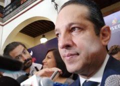 Dice el gobernador desconocer ley aprobada por diputados queretanos  de otorgar escoltas a funcionarios….